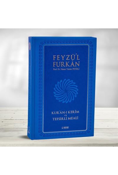 Feyzü'l Furkan Kur'an-ı Kerim ve Tefsirli Meali - Büyük Boy - Mushaf ve Meal - Mavi