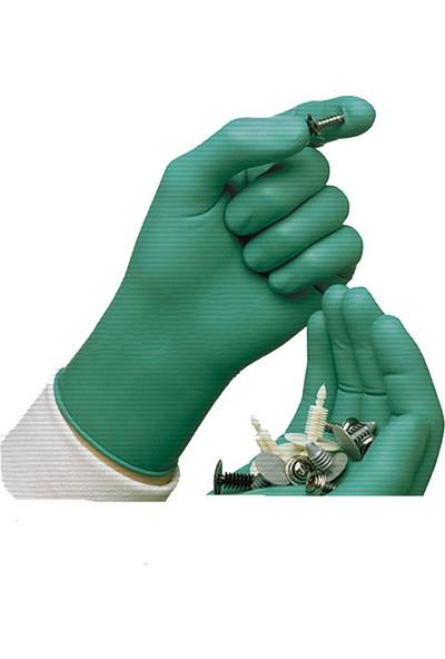 Faba Green 605 Yeşil Nitril Eldiven 100'lü Kutu