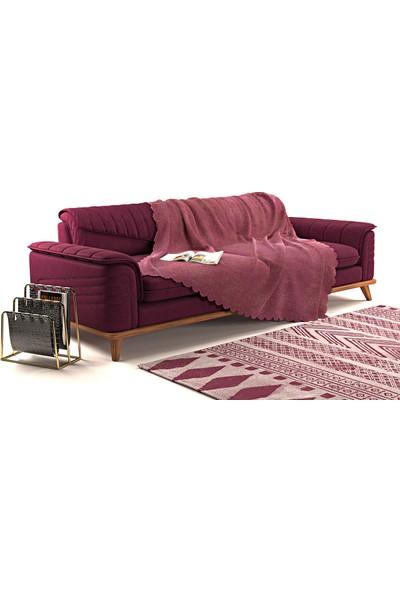 A.s.t Topdağı Tekstil Sofa Kaymaz Koltuk Örtüsü Şalı