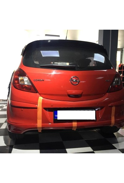 Güneşli Garaj Opel Corsa D Arka Ek Boyasız Ürün