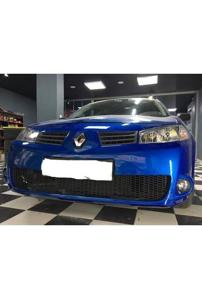 Güneşli Garaj Renault Megane 2 Rs Ön Tampon Fiber