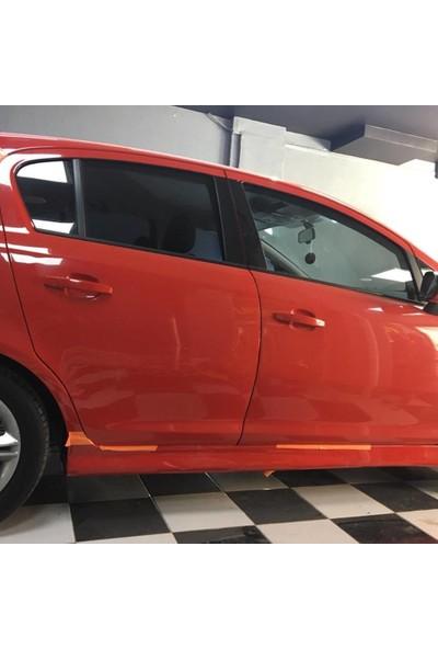 Güneşli Garaj Opel Corsa D Yan Marşpiyeller