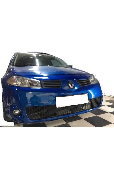 Güneşli Garaj Renault Megane 2 Fiber Ön Tampon Boyasız Ürün
