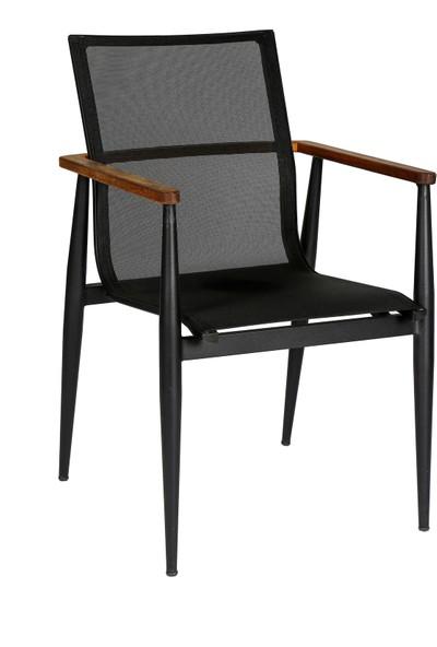 Garden Modern Olca Alüminyum Gövdeli Örgü Sandalye