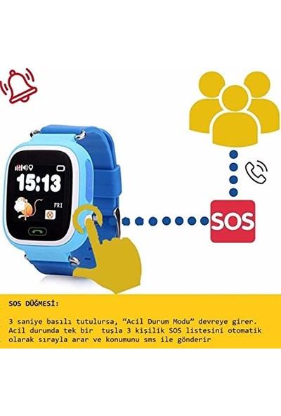 Eos Td-07S Gps Akıllı Saat Çocuk Takip Saati Sim Kartlı Arama