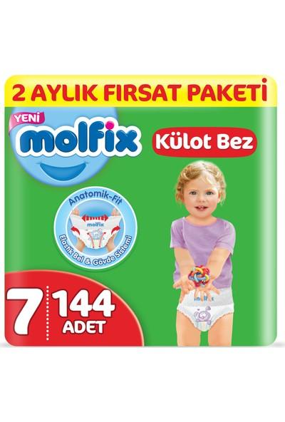Molfix Külot Bez 7 Beden XX Large 2 Aylık Fırsat Paketi 144 adet
