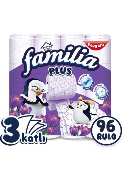 Familia Plus Parfümlü Tuvalet Kağıdı Jumbo Paket 96 Rulo