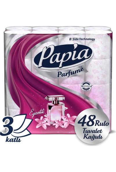 Papia Parfümlü Tuvalet Kağıdı Jumbo Paket 48 Rulo