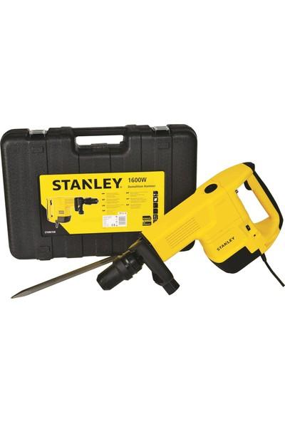 Stanley STHM10K-TR 1600W 14.7J 10 kg Profesyonel Ağır Hizmet Tipi SDS-Max Kırıcı