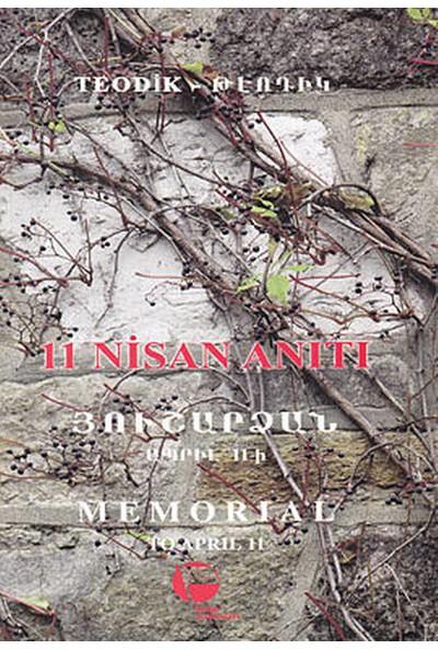 11 Nisan Anıtı-Dora Sakayan