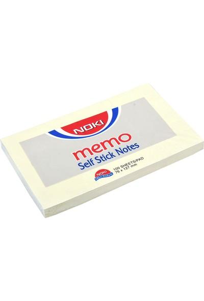 Noki Memo 75X125mm Yapışkanlı Not Kağıdı 100 Yaprak
