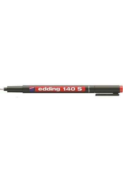 Edding Asetat Kalemi E-140S Kırmızı Ed14002