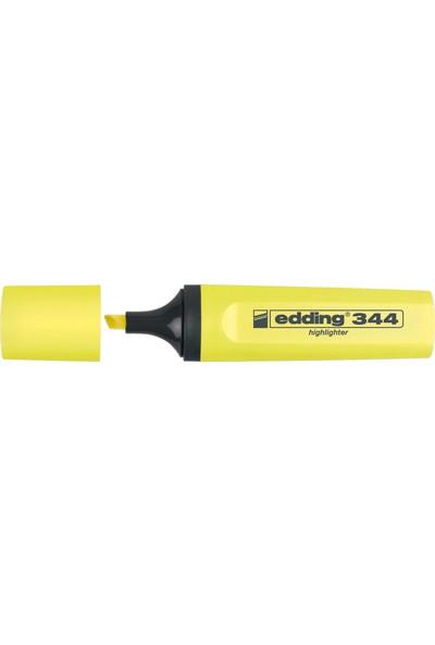 Edding Fosforlu Kalem E-344 Sarı Ed34405