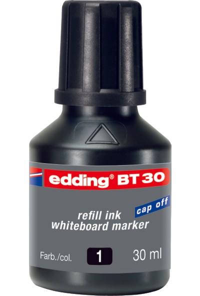 Edding Beyaz Tahta Mürekkebi 30 Ml E-Bt30 Siyah