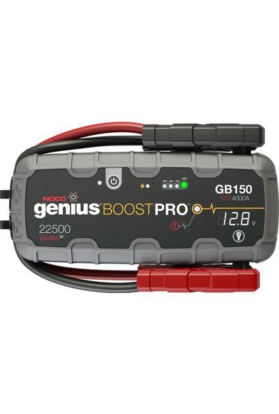 NOCO Genius GB150 12V 3000Amp Ultrasafe Lityum Akü Takviye + Powerbank + Led Lamba