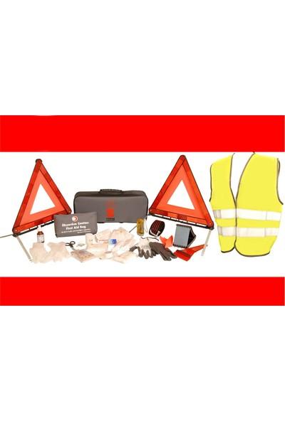 Tüpaş TUVTURK BAKANLIK UYUMLU Trafik Seti FULL - ŞIK (Gri Çantalı)