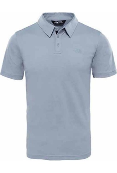 The North Face Tanken Polo Yaka Erkek T-Shirt Gri