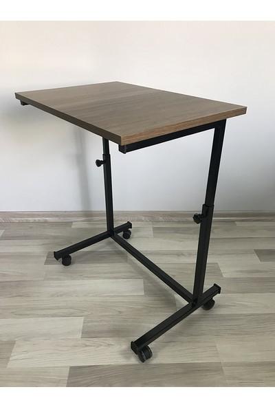 Laptop Sehpası ve Masası - Yükseklik Ayarlı - Tekerlekli