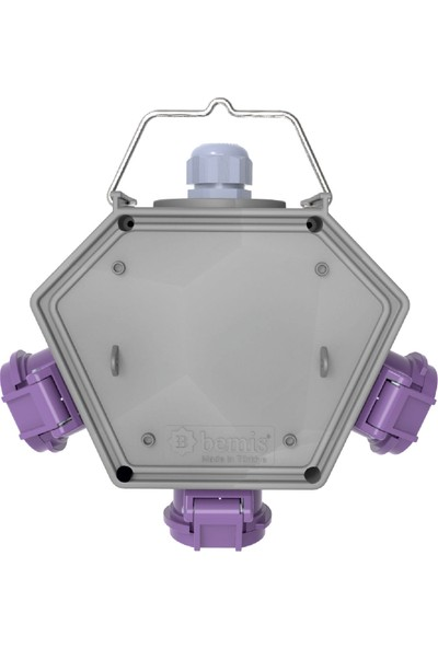 Bemis Polybox Cee Norm 2/16A. 24V. 3 Ad. Box