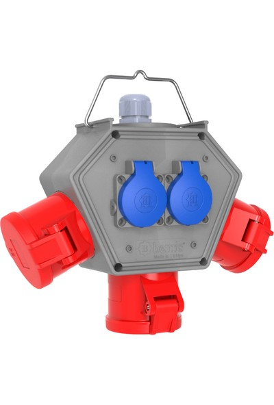 Bemis Polybox Cee Norm 4/32A. 3 Ad. + 1/16A. 2 Ad. Box