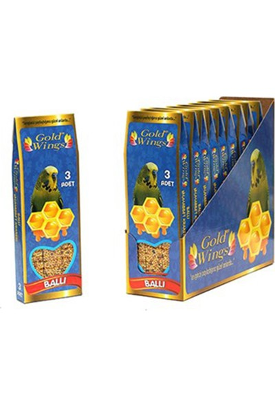 Gold Wings Ballı Kraker