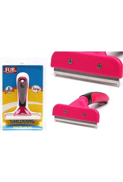 Flip Furminator Kırmızı Large 13.5 x 16 cm