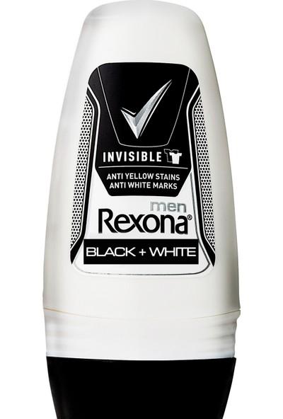 Rexona Deodorant Roll On Invısıble Black+Whıte 50 ml
