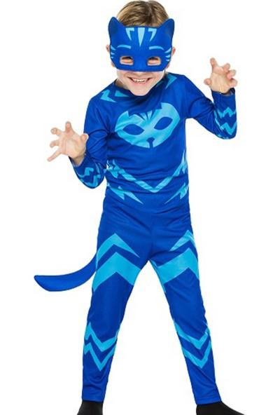 Bebebebek Pj Masks Kostüm - Pijamaskeliler Kostümü-Pjamasks Kostüm