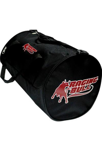 Raging Bull Silindir Spor Çanta Siyah 34Cmx26Cm