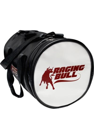 Xpro Nutrition Raging Bull Silindir Suni Deri Spor Çanta Siyah 34Cmx26Cm