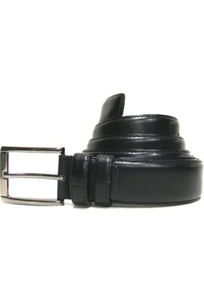 Shoepi 006 Siyah Klasik Erkek Kemer