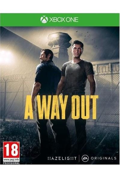 A Way Out Xbox One Oyunu