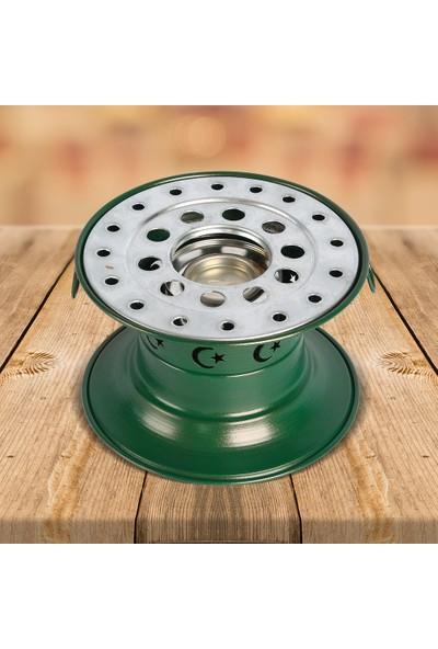 Güryan Osmanlı Ocağı Lüks 20x15 cm Yeşil