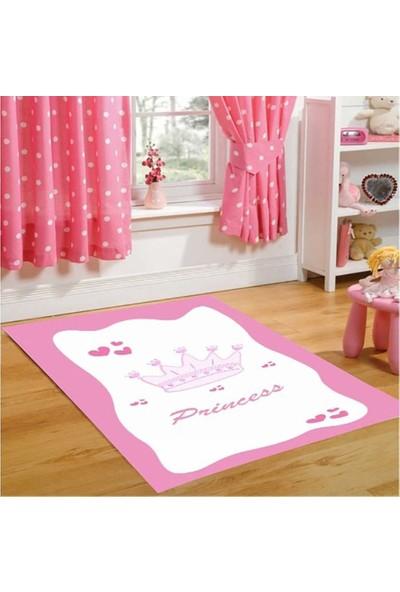 First Moon Prenses Çocuk Halısı 100 x 160 cm Pembe