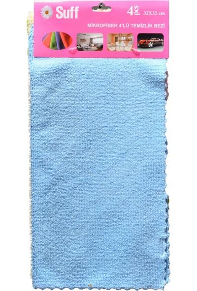 Kalwax 4 Lü Mikrofiber Temizlik Bezi 4'Lü