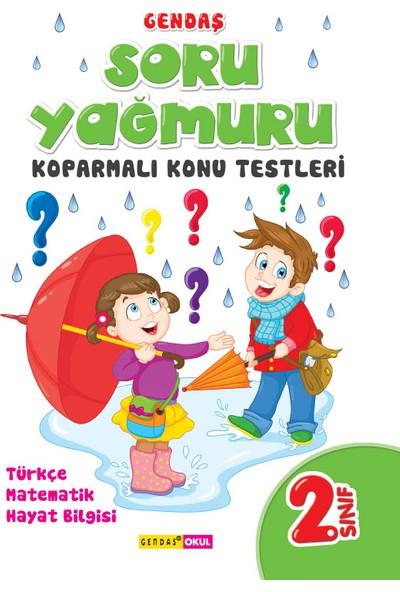 2. Sınıf Soru Yağmuru Koparmalı Konu Testleri