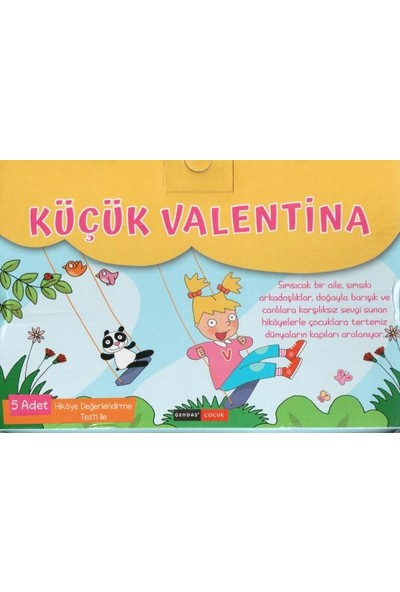 Küçük Valentina Okumayı Sevdiren Hikaye Seti 5 Kitap 2.- 3. Sınıf