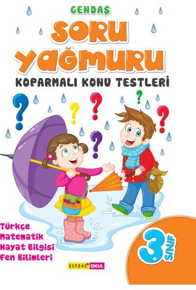 3. Sınıf Soru Yağmuru Koparmalı Konu Testleri