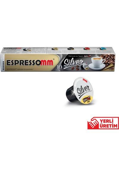 ESPRESSOMM Silver Kapsül Kahve (100 Adet) - Nespresso Uyumlu
