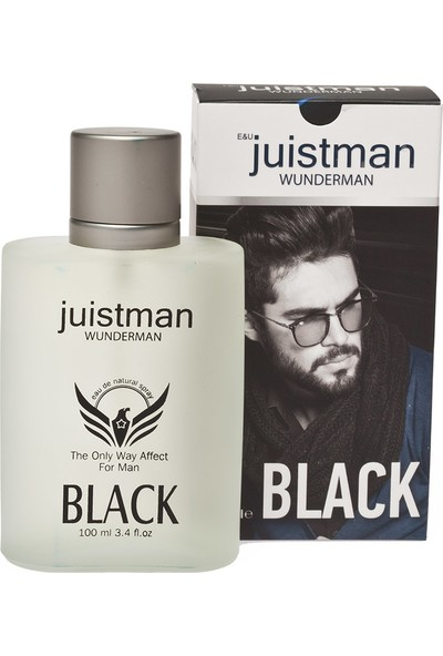 Juistman BLACK Erkek Parfüm