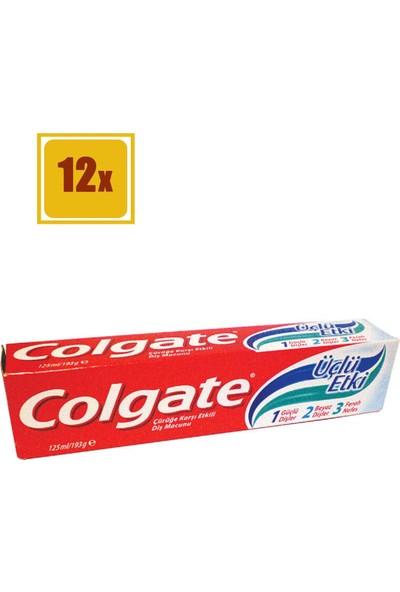 Colgate Diş Macunu Üçlü Etki 100 ml 12'li Set