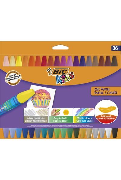 Bic Kids Yağlı Pastel Boya 36 Renk
