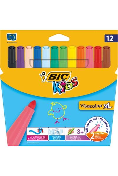 Bic Kids Visa Color Xl Keçeli Boya Kalemi 12'Li Kutu