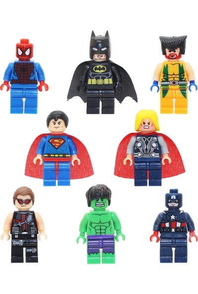 Pogo Süper Kahramanlar 8 Adet