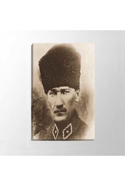 Piri Sanat Mareşal Atatürk Kanvas Tablo