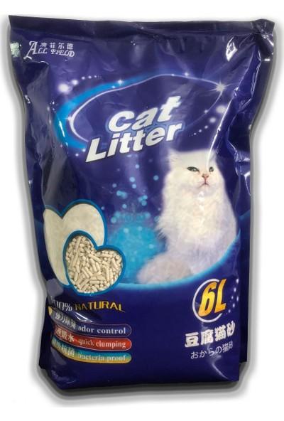 All Field Aromasız Tofu Kedi Kumu 6 lt