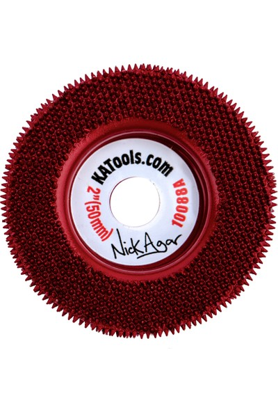 King Arthur's Tools 10088 Tungsten Karbür Törpü Orta 50 mm Proxxon İçin