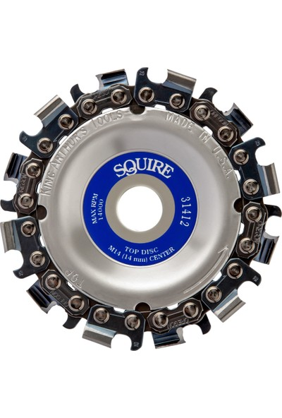 King Arthur's Tools 31412 Squire Ahşap İşleme Diski 89 mm 12 Diş