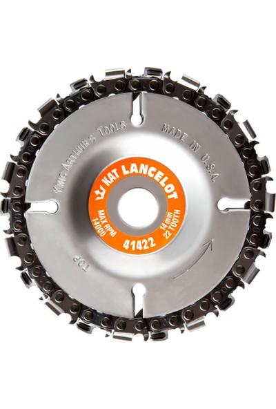 King Arthur's Tools 41422 Lancelot Ahşap İşleme Diski 100 mm 22 Diş