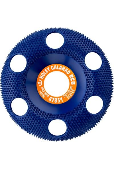 King Arthur's Tools 47851 RCB Holey Galahad Kaba Mavi Törpü Disk